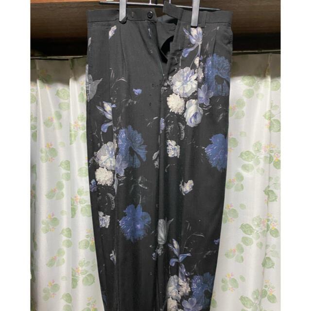 LAD MUSICIAN(ラッドミュージシャン)のlad musician18ss 花柄ワイドパンツ メンズのパンツ(スラックス)の商品写真