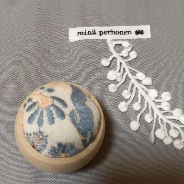 mina perhonen(ミナペルホネン)のミナペルホネン ピンクッション セレブレイト ハンドメイドの生活雑貨(雑貨)の商品写真