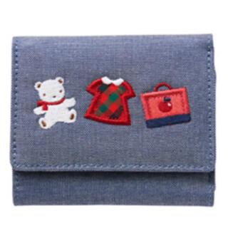 familiar - 新品未開封プレゼント包装済み  familiar       デニム財布