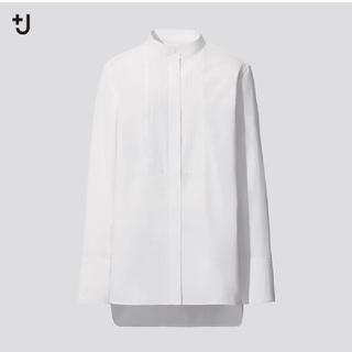 ユニクロ(UNIQLO)のmoca ☆様専用 +J スーピマコットンタックシャツ ユニクロ(シャツ/ブラウス(長袖/七分))