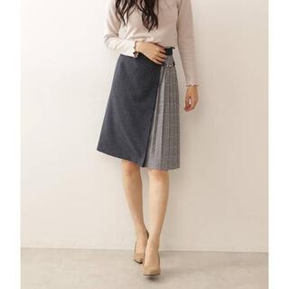 PROPORTION BODY DRESSING - ビット付きチェックプリーツタイトスカート