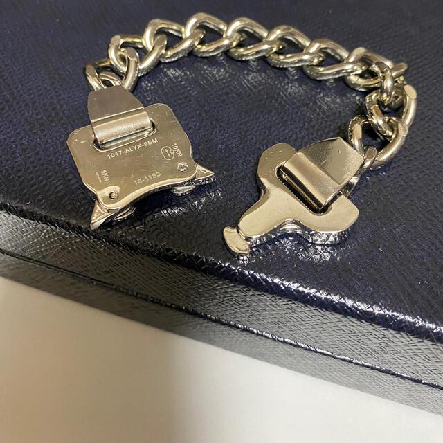 美品★ALXX.アリクス/ローラーコースターバックル#ブレスレット#シルバー メンズのアクセサリー(ブレスレット)の商品写真