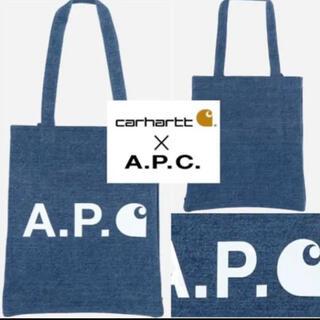 アーペーセー(A.P.C)の新品 A.P.C. x Carhartt アーペーセー×カーハート トートバッグ(トートバッグ)