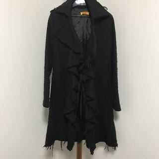 グラマラスガーデン(GLAMOROUS GARDEN)のグラマラスガーデン ロングコート M ブラック(ロングコート)