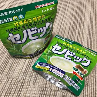 ロートセイヤク(ロート製薬)のセノビック 抹茶ミルク味 2袋(その他)
