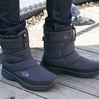 THE NORTH FACE - THE NORTH FACE 希少デザインロゴ BOOTIE unisex 25