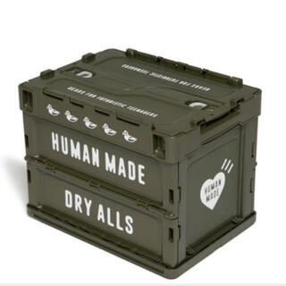 A BATHING APE - HUMAN MADE CONTAINER 20L OLIVE DRAB コンテナ