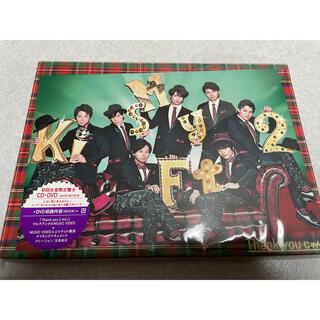 ジャニーズ(Johnny's)のThank youじゃん!(初回生産限定盤 B) Kis-My-Ft2(アイドルグッズ)
