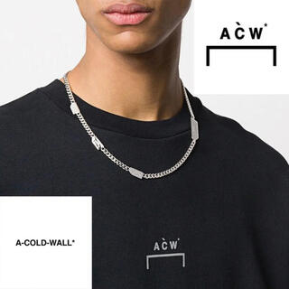 A-COLD-WALL* ロゴ チェーンネックレス