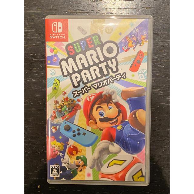 Nintendo Switch(ニンテンドースイッチ)のスーパーマリオパーティ Switch版 エンタメ/ホビーのゲームソフト/ゲーム機本体(家庭用ゲームソフト)の商品写真