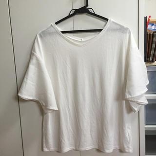 ミスティウーマン(mysty woman)のmysty woman*袖ボリュームT(Tシャツ(半袖/袖なし))