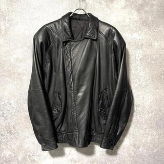 Maison Martin Margiela - vintage 本革 レザージャケット ライダースジャケット ブルゾン 革ジャン
