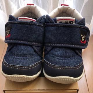 ダブルビー(DOUBLE.B)のミキハウス ダブルB 13cm  靴(スニーカー)