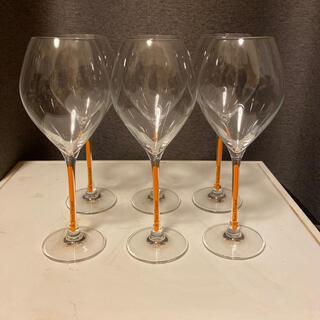 ヴーヴクリコ  シャンパングラス 新品未使用品 6脚セット(グラス/カップ)