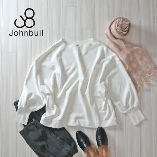 JOHNBULL - Johnbull 定価13,200 裏毛クルーネックスウェット