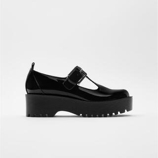 ZARA - ZARA フラット厚底靴 TRF サイズ26cm