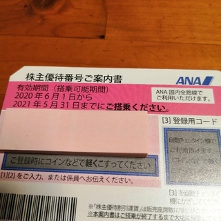 エーエヌエー(ゼンニッポンクウユ)(ANA(全日本空輸))のANA 優待券(航空券)