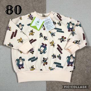 futafuta -  futafuta 新品未使用 80 Mickey トレーナー