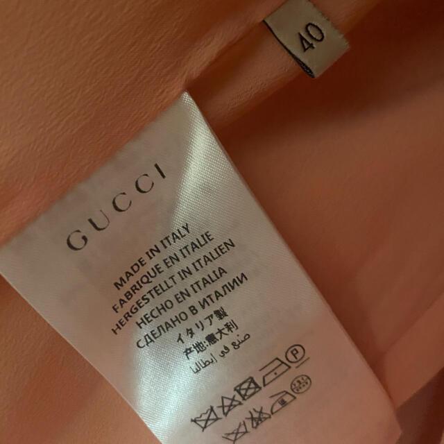 Gucci(グッチ)のkiki様♡水曜までお取り置きです♡gucci♡ウェブ付きウールコート レディースのジャケット/アウター(ロングコート)の商品写真