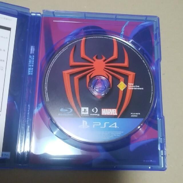 PlayStation4(プレイステーション4)のスパイダーマン マイルズモラレス PS4 エンタメ/ホビーのゲームソフト/ゲーム機本体(家庭用ゲームソフト)の商品写真