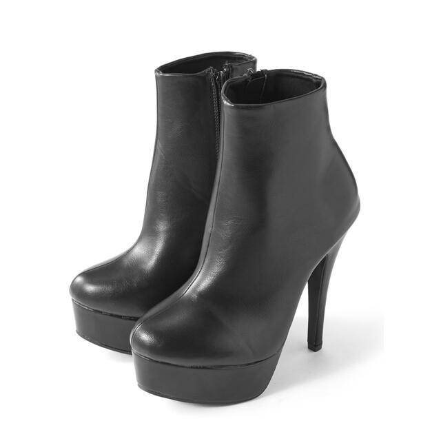 GRL(グレイル)のGRL ハイヒールショートブーツ レディースの靴/シューズ(ブーツ)の商品写真