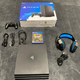 PlayStation4 - PS4PRO本体セット