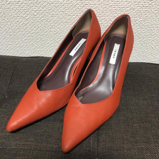 Ameri VINTAGE(アメリヴィンテージ)のAMERI VARIOUS EASY PUMPS レディースの靴/シューズ(ハイヒール/パンプス)の商品写真