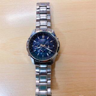 カシオ(CASIO)のCASIO カシオ 腕時計 LINEAGE 5174  電波ソーラー(腕時計(アナログ))