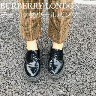 BURBERRY - BURBERRY LONDON チェックパンツ