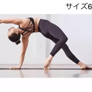 ルルレモン(lululemon)のタグ付き新品 Lululemon align Ⅱ pant ヨガ 黒 サイズ6(レギンス/スパッツ)