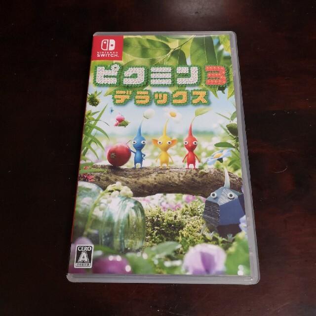 Nintendo Switch(ニンテンドースイッチ)のピクミン3 Switch ニンテンドー エンタメ/ホビーのゲームソフト/ゲーム機本体(家庭用ゲームソフト)の商品写真