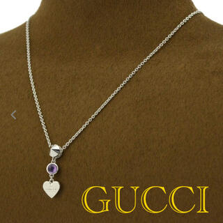 Gucci - 【正規品】GUCCI♡ネックレス【美品】【匿名、即日発送】