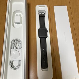 Apple Watch Series2 42mm  スペースグレー アルミニウム