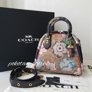 COACH - 極美品【コーチ】カファ・ファセット マーレイ・サッチェル   ハンドバッグ