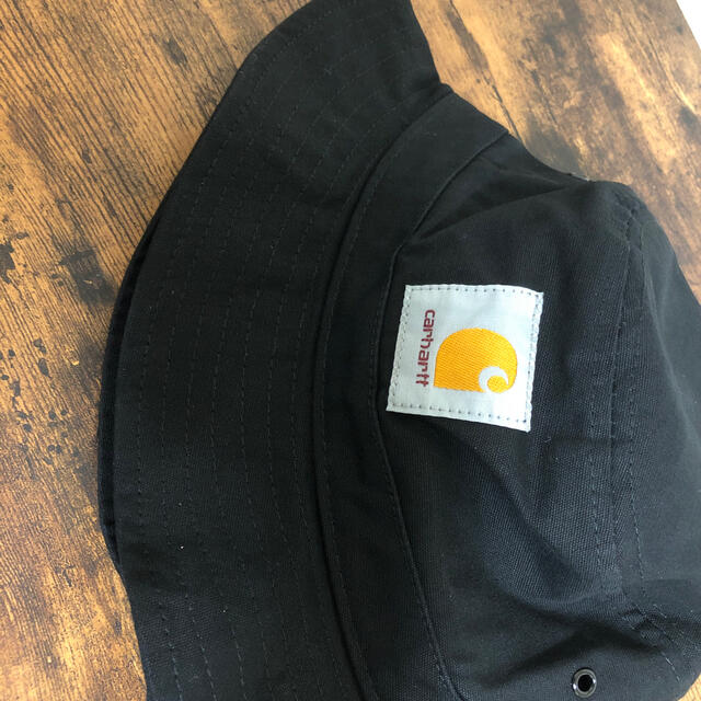 carhartt(カーハート)の残り2点(新品未使用)carhartt バケットハット 黒 メンズの帽子(ハット)の商品写真