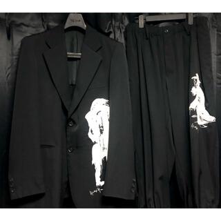 Yohji Yamamoto - Yohji Yamamoto  pour homme  刺繍セットアップ