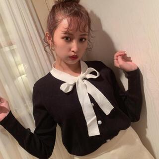 snidel - ♡ ribbon knit cardigan ♡