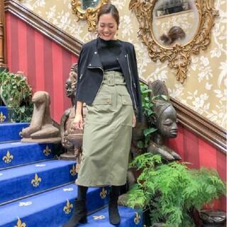 GRACE CONTINENTAL - グレースコンチネンタル フロントポケットタイトスカート