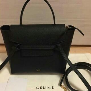 セリーヌ(celine)の美品♡CELINE ベルトバッグ マイクロ/グレインドカーフスキン ♡(ショルダーバッグ)