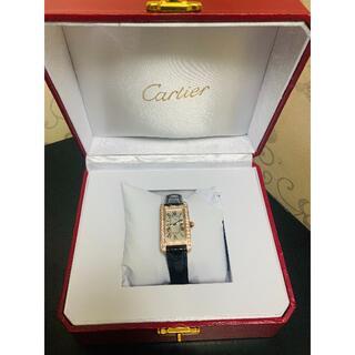 Cartier - Cartier カルティエ tank 腕時計
