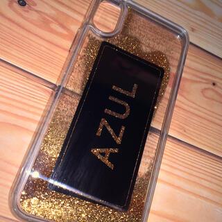 アズールバイマウジー(AZUL by moussy)のiPhonexs(iPhoneケース)