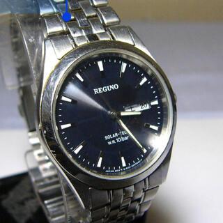 シチズン(CITIZEN)の☆シチズン レグノ ソーラーテック  三針 デイデイト ソーラー充電腕時計(腕時計(デジタル))
