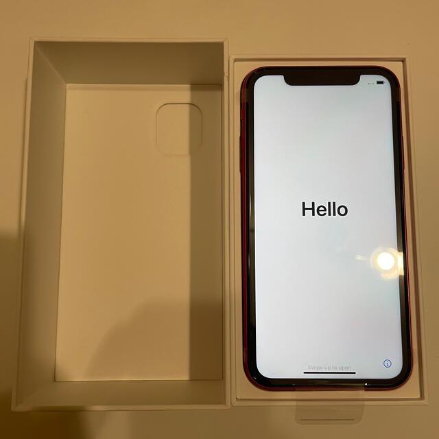 iPhone(アイフォーン)のiPhone11 128G product red 新品未使用 スマホ/家電/カメラのスマートフォン/携帯電話(スマートフォン本体)の商品写真