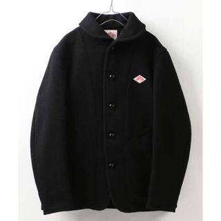 ダントン(DANTON)のDANTON ウールモッサ シングルジャケット 40 ブラック(ピーコート)