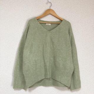 ♪ セポ Vネック、きれい色ゆったりニット セーター cepo♪