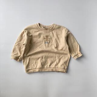 韓国子供服 bao baby くま mtm トレーナー