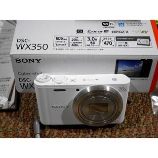 SONY - 【極美品/送料込】SONY Cyber−Shot WX DSC-WX350(W)