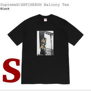 Supreme - 【新品未使用】Supreme / ANTIHERO Balcony Tee 黒S