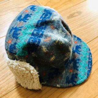 キッズズー(kid's zoo)のキッズズー 冬用帽子 46センチ(帽子)