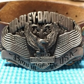 ハーレーダビッドソン(Harley Davidson)のハーレーダビッドソン バックル(ベルト)